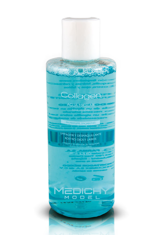 collagen agua micelar medichy model