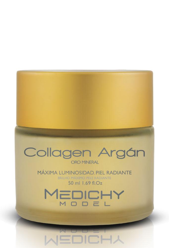 collagen crema argan medichy model