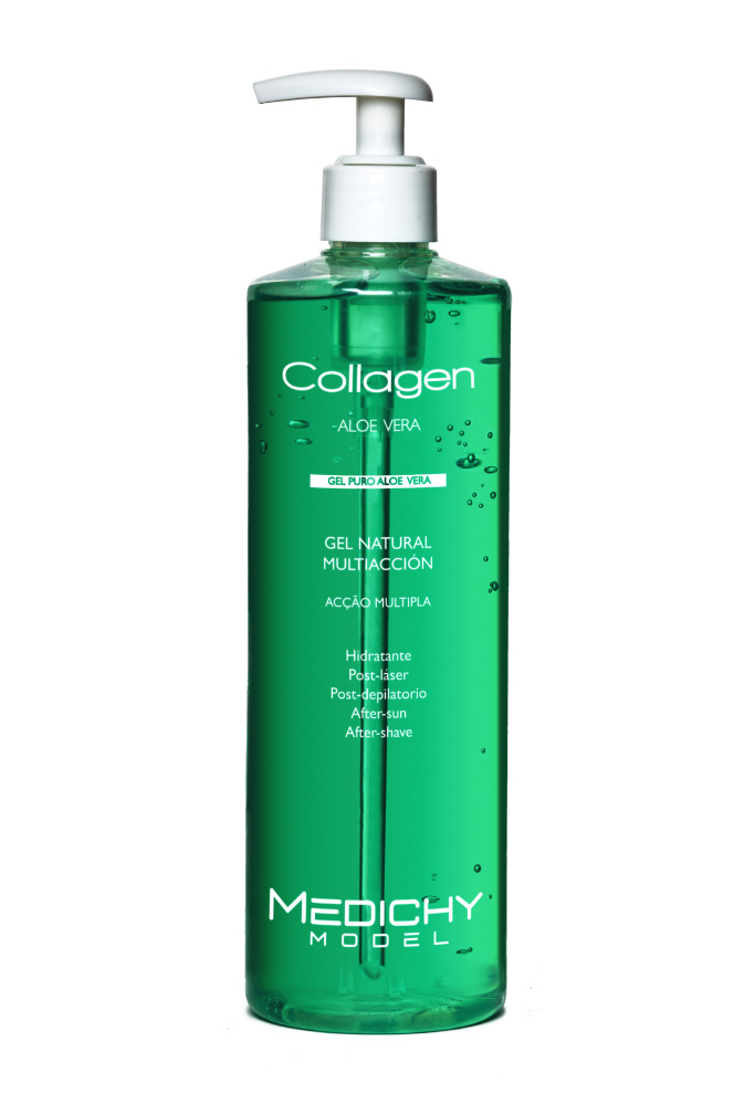 Gel aloe vera collagen medichy model